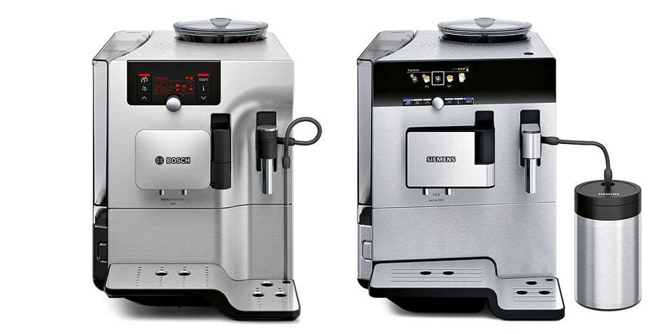 Produktdesigner d+e entwickeln Design für Bosch Verobar und Siemens EQ.7