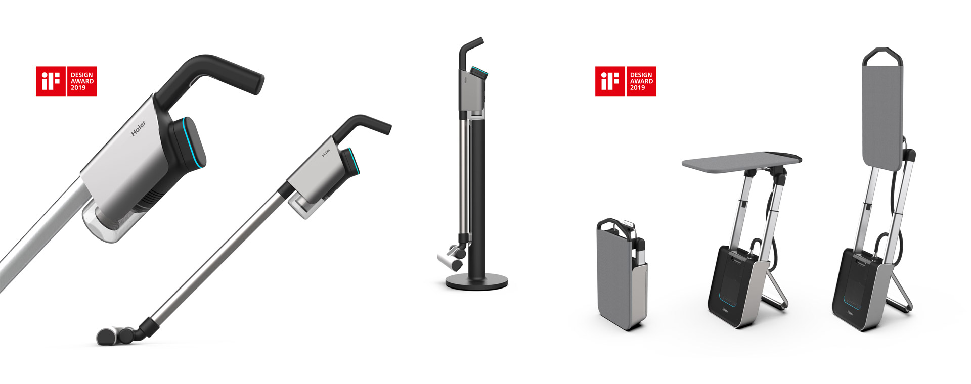 daniels erdwiens industrial design for Haier Group iF Design award