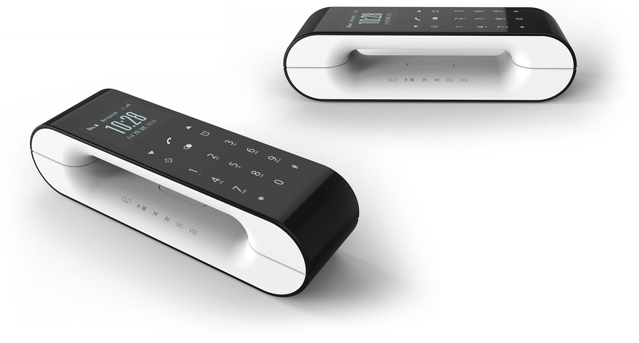 design study dect phone daniels erdwiens industrial. Black Bedroom Furniture Sets. Home Design Ideas