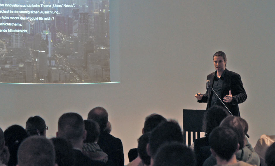 Micha Daniels World Usability Day in Frankfurt