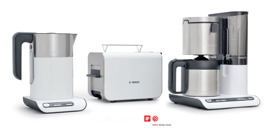 Produktdesign Bosch Siemens Styline breakfast set