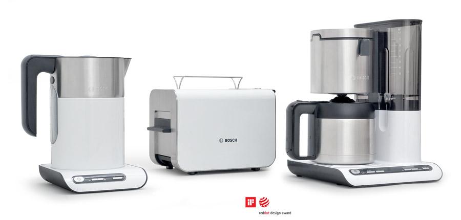 Preisgekröntes Produktdesign. daniels + erdwiens für Bosch und Siemens Hausgeräte