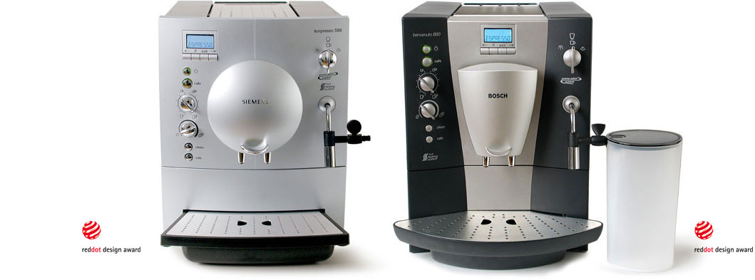 espresso vollautomat tk 5 tca 5 daniels erdwiens industrial design produktdesigner. Black Bedroom Furniture Sets. Home Design Ideas