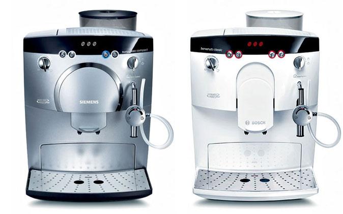 Produktdesign Siemens TK-5 Bosch TCA-5 Espresso-Vollautomaten für Bosch Siemens Hausgeräte