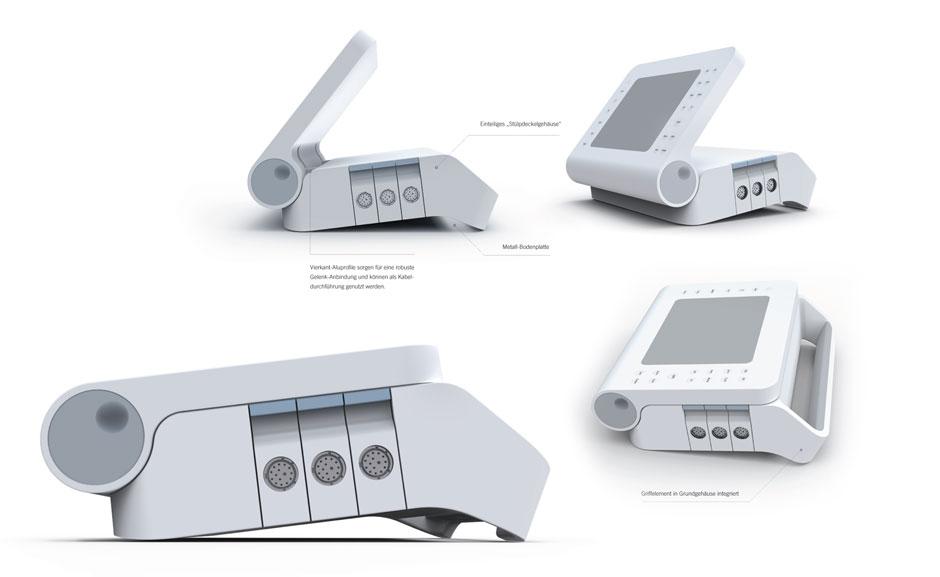 Meßgerät Design-Konzeptphase 01 daniels + erdwiens industrial designer