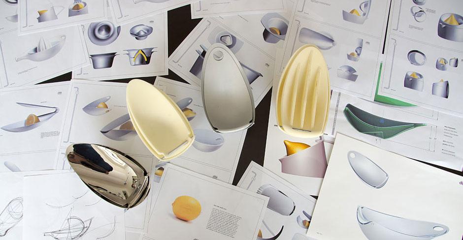 Entwicklung Zitronenpresse Callista Industriedesigner d+e für blomus