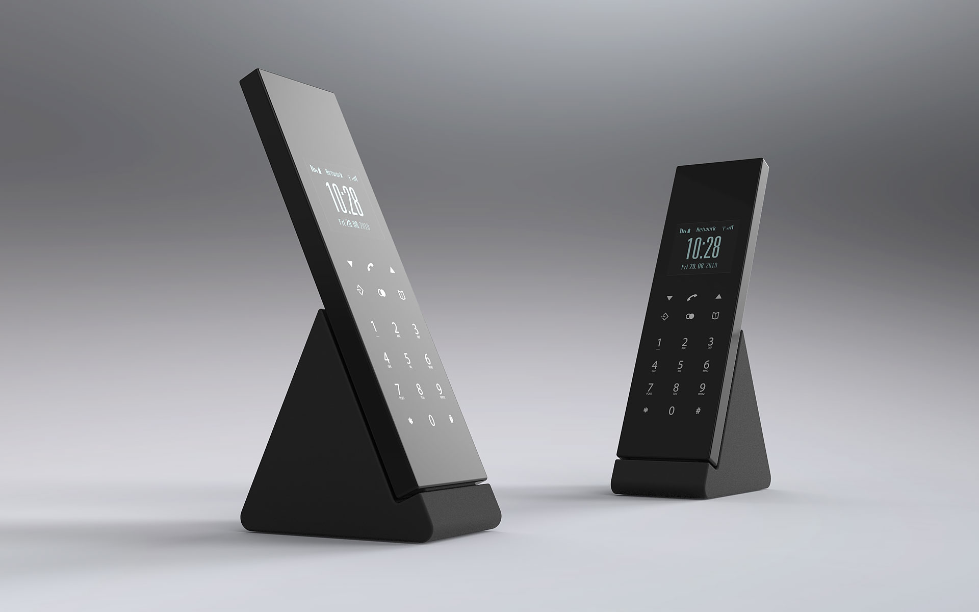 Industrial Design Conceptual Studies Dect Telephone