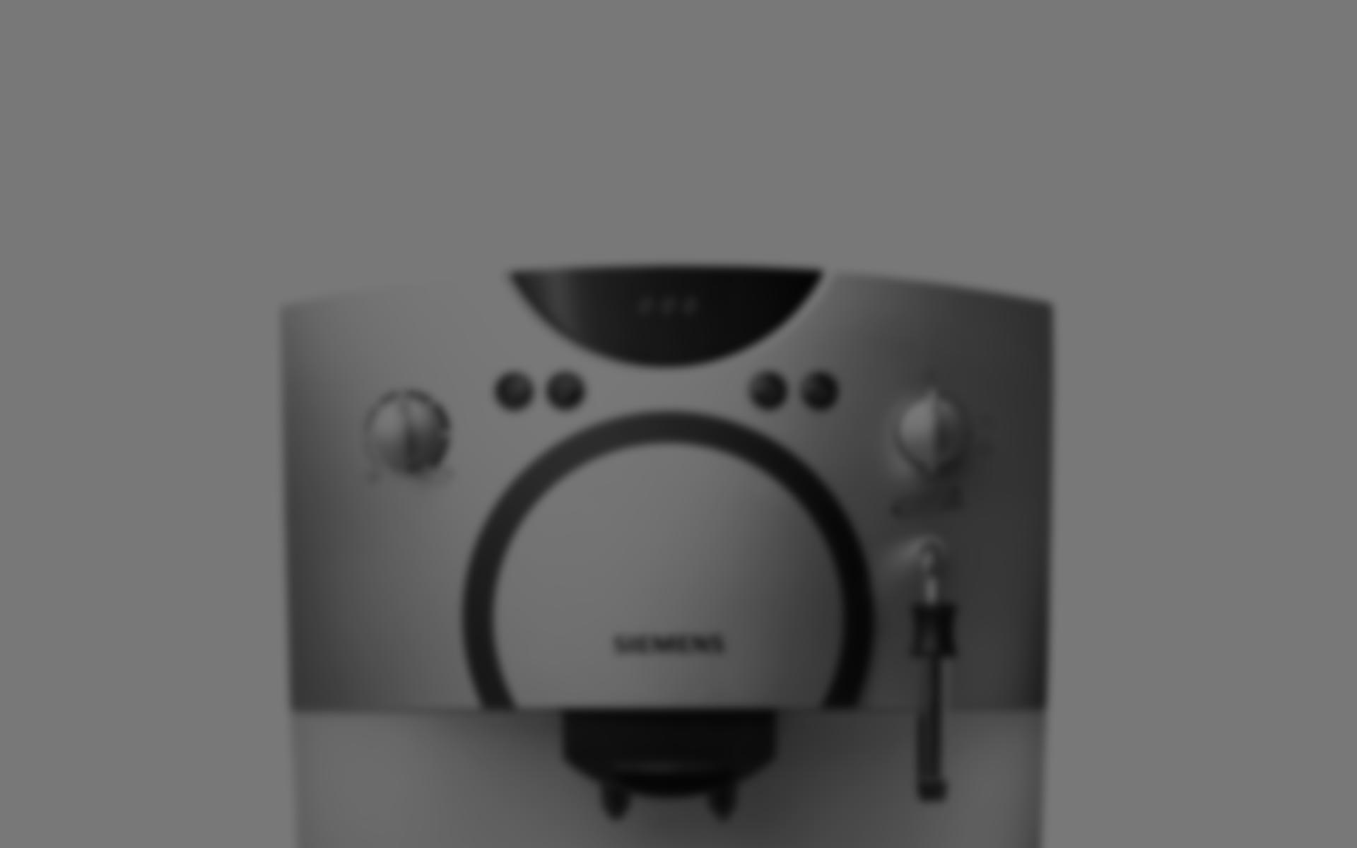 Produktdesign Espresso Vollautomat TK5 Siemens TCA 5 Bosch für Bosch Siemens Hausgeräte