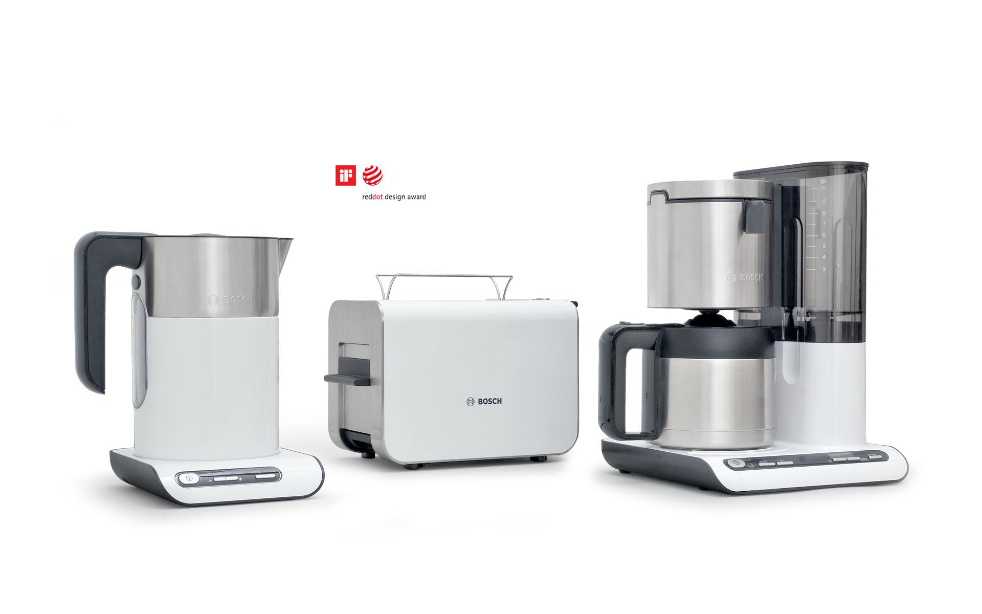 Produktdesigner d+e für Bosch Siemens Hausgeräte