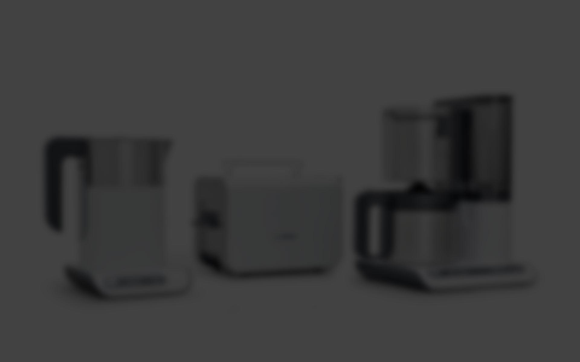 Produktdesign Kaffeemaschine für Bosch Siemens Hausgeräte