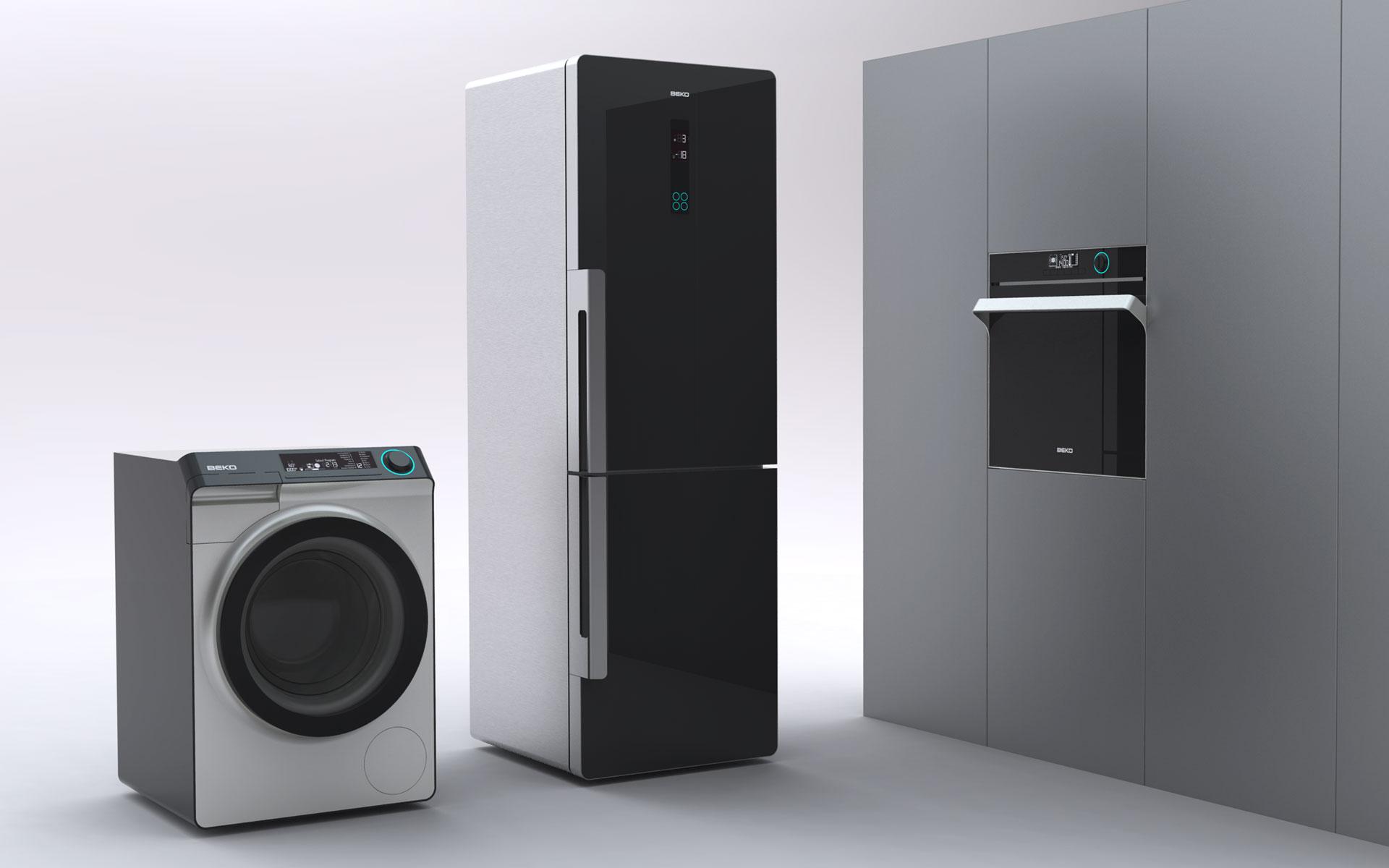 Industriedesigner d+e für BEKO / Arcelik. Design Küchengroßgeräte